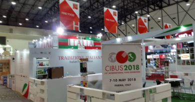 """I prodotti """"Authentic Italian"""" alla fiera di Bangkok"""