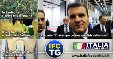 IFC TG: Turismo in Italia, Bergamotto, Matera 2019, Sardegna olio