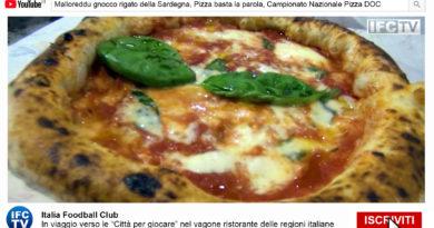 PIZZA E PASTA TG: Malloreddu, Pizza basta la parola, Campionato nazionale Pizza DOC