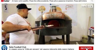 PIZZA E PASTA TG: Pastifici italiani, campionato pizza doc, pizza arte Unesco